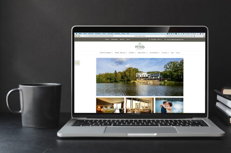 Peters Hotel Jägersburg - Webdesign Referenz