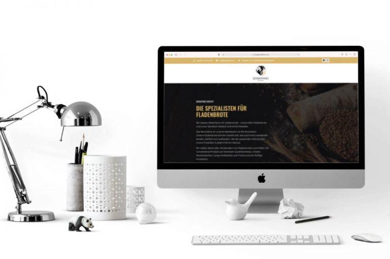 Bonapano Bakery - Website Referenz - Sascha Fenrich